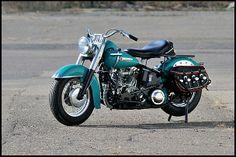 1949 Harley-Davidson EL Twin   #Mecum #LasVegas #MidAmerica
