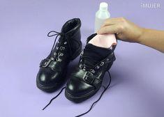como eliminar el mal olor de los zapatos en 4 pasos 2 Dr. Martens, Quites, Combat Boots, Beauty Hacks, Hair Beauty, Elba, Shoes, Closets, Health