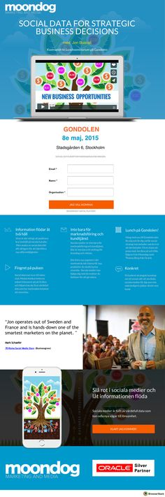 Oracle - Event  Landpage