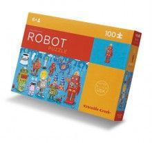 Puzzel robots 100 stukjes