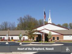 Heart of the Shepherd Lutheran Church in Howell, Michigan #LCMS