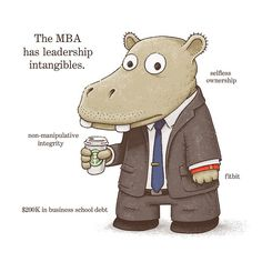 Businesstown... with apologies to Richard Scarry