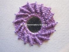 Lets learn embroidery: Mirror work 4
