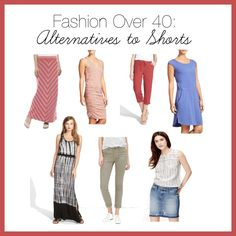 Fashion Over 40 Alternatives to Shorts