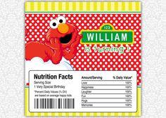 Elmo Birthday Candy Bar or Chocolate Bar Wrappers Birthday Candy, Elmo Birthday, Special Birthday, Birthday Parties, Birthday Banners, Elmo Sesame Street, Sesame Street Birthday, Chocolate Bar Wrappers, Happy Kids