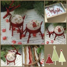 Reindeer Games- With thy Needle & Thread Dang it! I haven't finished the Turkey yet! lol