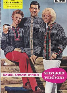 Ny #Setesdal k 848 Nye, Color Combinations, Norway, Skiing, Knitting Patterns, Coat, How To Wear, Design, Fashion