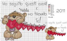 Cross Stitch Pillow, Just Cross Stitch, Cross Stitch Heart, Cross Stitch Animals, Cross Stitching, Cross Stitch Embroidery, Cross Stitch Patterns, Embroidery Patterns, Fizzy Moon