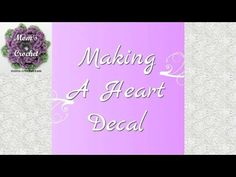 Crochet Heart Decal - YouTube