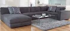 charcoal leather lounge - Google Search