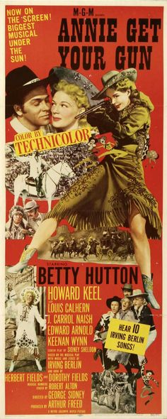Annie Get Your Gun (1950) Sharp-shooting country girl annie oakley is such a natural with a gun that she ultimately becomes the star of Buffalo Bill's Wild West Show.