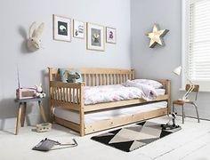Single Day Bed Frame Divan Sofa Pull Out Trundle Kids Furniture Sleeping Bedroom | eBay