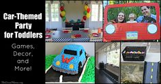 Looking to throw a car-themed party for your toddler? Here are lots of great ideas for car decor, games and more. Your toddler will love his or her car themed party!
