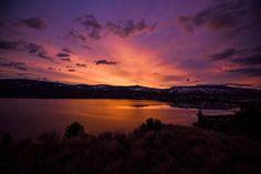 Okanagan Sunrise Penticton, British Columbia, CA