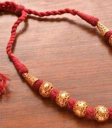 Stylish jalebi 4 string gold plated necklace set for women ...