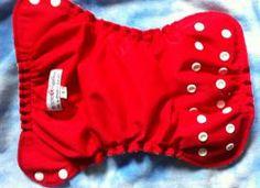 FOR SALE: Applecheeks size 1 Cherry Tomato | Cloth Diaper Trader