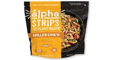 Fiber Nutrition, Meatless Chicken, Grilled Chicken Strips, Food Value, Soy Protein Isolate, Yeast Extract, Vegetable Protein, Gum Arabic, Tasty Bites
