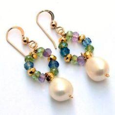 34 Adorable Jewelry Earring Ideas For Women - Seed Bead Earrings - Schmuck Cute Jewelry, Jewelry Crafts, Wedding Jewelry, Gold Jewelry, Beaded Jewelry, Jewelery, Women Jewelry, Diamond Jewelry, Diy Schmuck