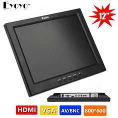 122.33$  Buy now - http://ali3i6.worldwells.pw/go.php?t=32784085779 - Free shipping!JSW121H 12-inch 165 degree Viewing Color Screen CCTV Monitor for CCTV Security Camera