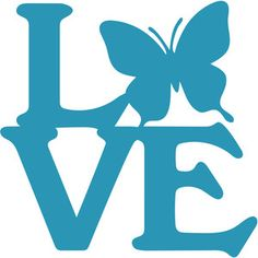 Silhouette Design Store - View Design #127499: butterfly love