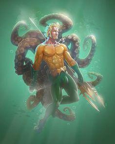 Aquaman by Butch McLogic - https://www.facebook.com/butch.mclogic?fref=photo