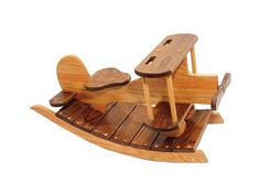 Rocking Airplane for Vintage Airplane Nursery. Trev your dad totally needs to make this!!!!!
