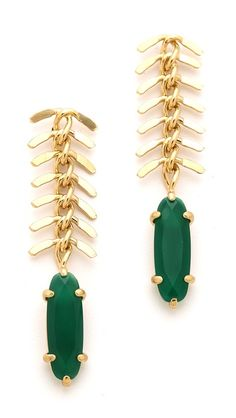 Wouters & Hendrix Fish Bone Earrings