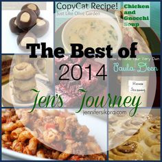 The Best Recipes of 2014 on Jen's Journey  #Foodie #ad