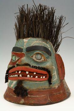 Tlingit War Helmet, Alaska