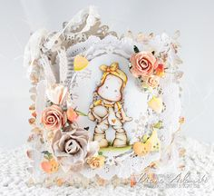 DeeDee's Card Art - All About Magnolia Challenge - All About Fall/Halloween - Market Tilda by Magnolia Stamps Sweden