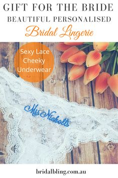 642fd49834fdf Personalised Bridal Lingerie