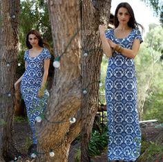 Simple maxi to keep cool in the summer or layered with a jacket for Fall | Threads 4 Thought #sustainable #ecofriendly #eco #organic #recycled