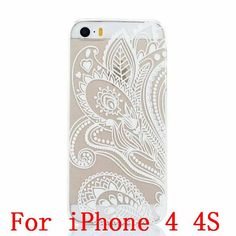 New Plastic Hard Back Case Cover For iPhone 4 4S 4g 5 5S 5g SE HENNA OJIBWE DREAM CATCHER Ethnic Tribal