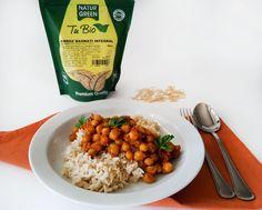 orez basmati cu naut curry 4 Curry 4, Chana Masala, Ethnic Recipes, Food, Rice, Meal, Essen, Hoods, Meals