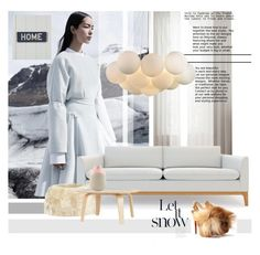 """""""Warm inside"""" by laste-co ❤ liked on Polyvore featuring interior, interiors, interior design, home, home decor, interior decorating, COS, Natures Collection, Dot & Bo and L.L.Bean"""