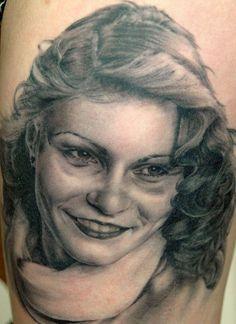 Tattoo by Andy Engel Piercing Studio, Black And Grey, Heaven, Ink, Portrait, Tattoos, Angel, Sky, Tatuajes