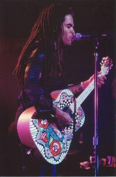 Painting guitar of Lenny Kravitz Designed by Rosalisa Paradiso Amsterdam 1995 Adventure Time Art, Cartoon Network Adventure Time, Lenny Kravitz, Music Maniac, Taylor Guitars, Guitar Painting, Prince Rogers Nelson, Guitar Design, Jon Bon Jovi