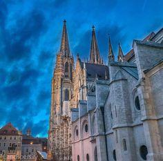 Barcelona Cathedral, Building, Travel, Regensburg, Viajes, Buildings, Trips, Traveling, Tourism