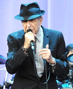 "leonard cohen: ""There is a crack in everything; that's how the light gets in."""