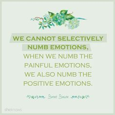 Love, love, love these quotes from Brene Brown!