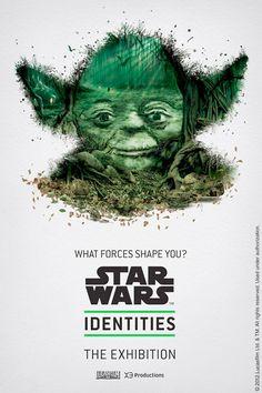 Star Wars IDENTITIES exhibit in Montreal - great posters!