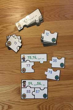 Looking for a fun teaching idea for counting and ordering numbers to 100? Well look no further as Ordering Numbers Game Puzzles for Counting to 100, CCSS K.CC.2, will serve as an exciting lesson for Kindergarten elementary school classrooms. This is a great resource for a guided math center rotation, review exercise, small group work and for an intervention or remediation. I hope you download and enjoy this engaging hands-on manipulative activity with your students!