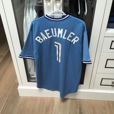 """bryanbaeumler: """"Got the outfit ready for the @bluejays game tonight! #putmeincoach"""""""