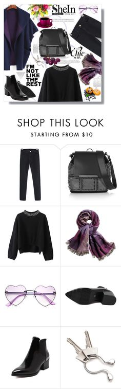 """Hijab"" by sans-moderation ❤ liked on Polyvore featuring Christian Louboutin, Chico's, Georg Jensen, hijab and shein"
