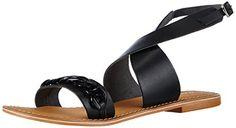 VERO MODA VMKAROLINE LEATHER SANDAL Damen Knöchelriemchen Sandalen mit Keilabsatz - http://on-line-kaufen.de/vero-moda/vero-moda-vmkaroline-leather-sandal-damen-mit