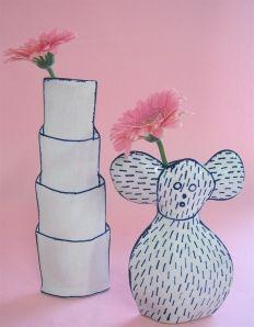 Marianne Hallberg I Love You Ceramic Decor, Ceramic Design, Ceramic Clay, Ceramic Vase, Ceramic Pottery, Ceramic Figures, Ceramic Artists, Contemporary Ceramics, Art Object