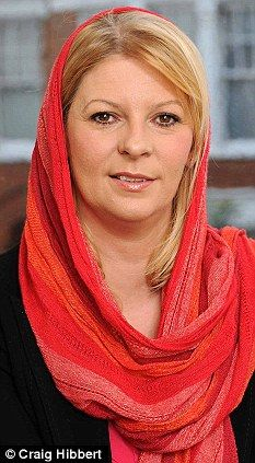 Convert: Lauren Booth the sister-in-law of Prime Minister Tony Blair attracted a lot of publicity when she announced she had adopted the Islamic faith last year