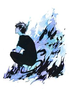 Okumura Rin || Ao no Exorcist • Blue Exorcist