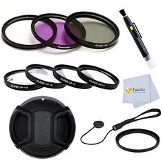 58mm filter kit for Sony Lenses 1855mm 1870mm 75300mm 55200mm 50mm -- See this great product.
