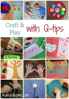 Craft and Play with Q-tips
